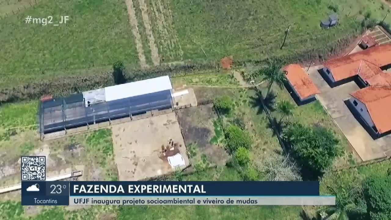 UFJF inaugura Fazenda Experimental em Ewbank da Câmara