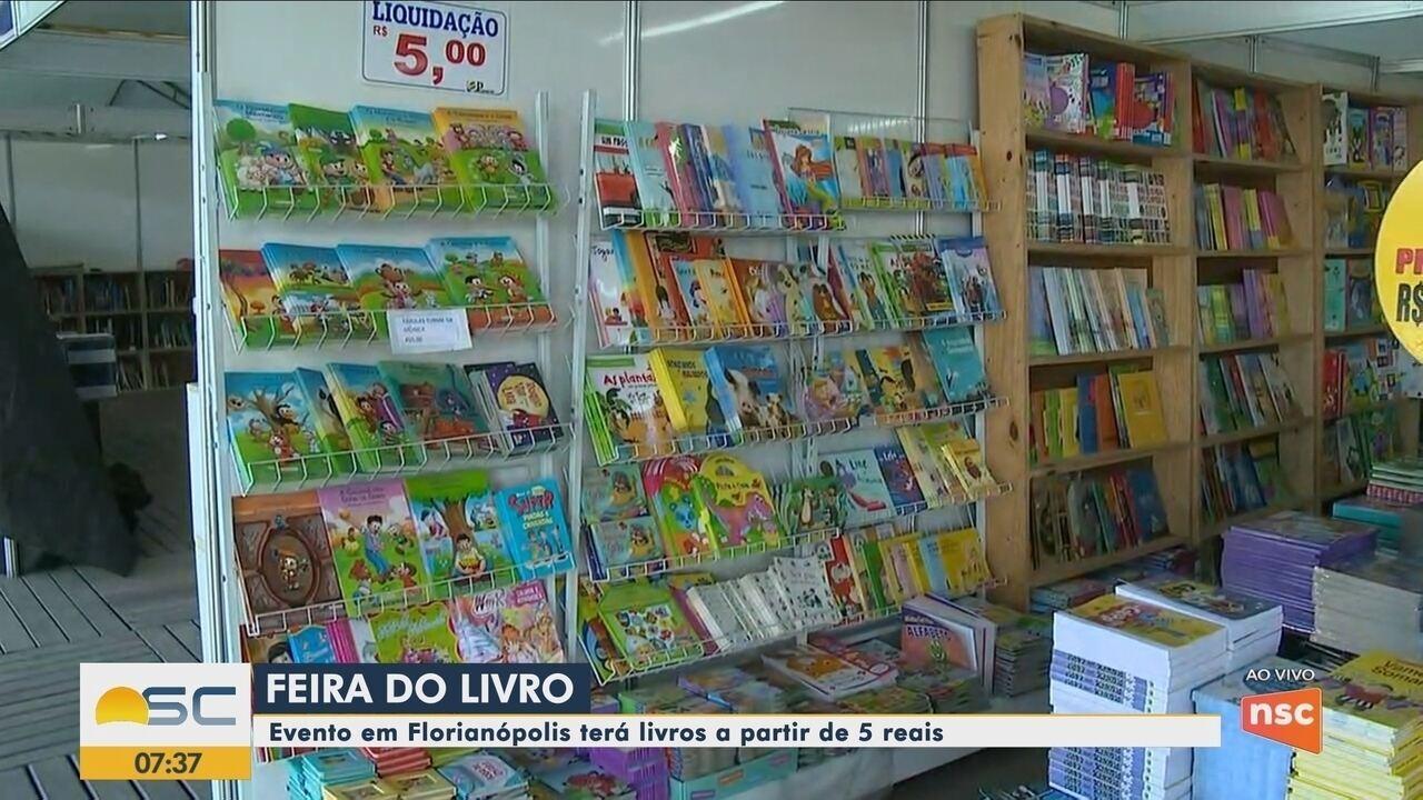 Começa nesta quinta-feira a Feira do Livro em Florianópolis