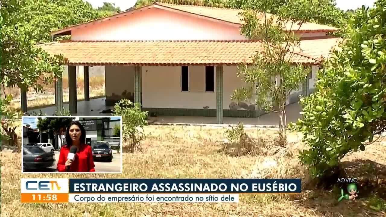 Estrangeiro é assassinado em sítio no Eusébio