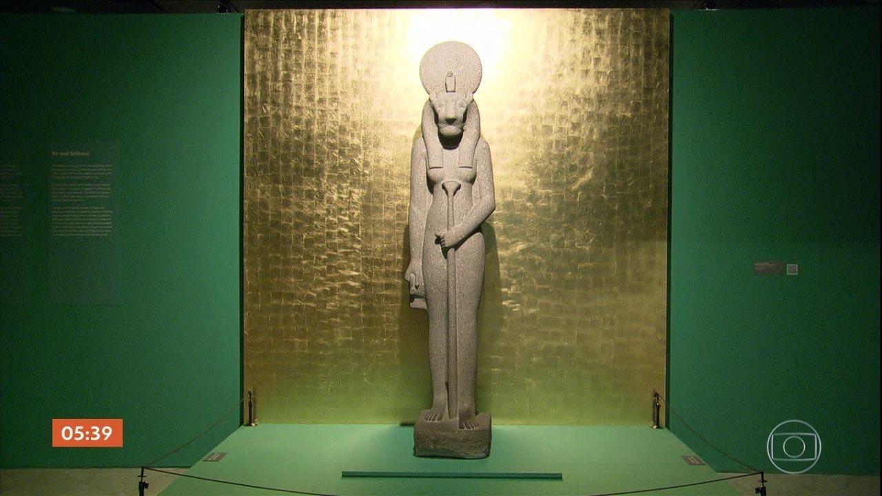 CCBB do RJ comemora 30 anos com exposição sobre o Egito antigo