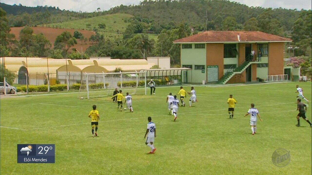 Caldense goleia o Grêmio Osasco em jogo-treino em Poços de Caldas (MG)