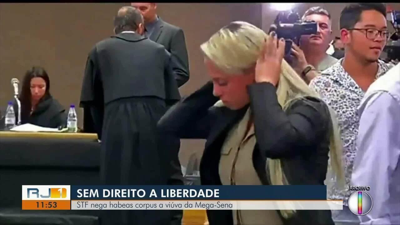 STF nega habeas corpus a viúva da Mega-Sena