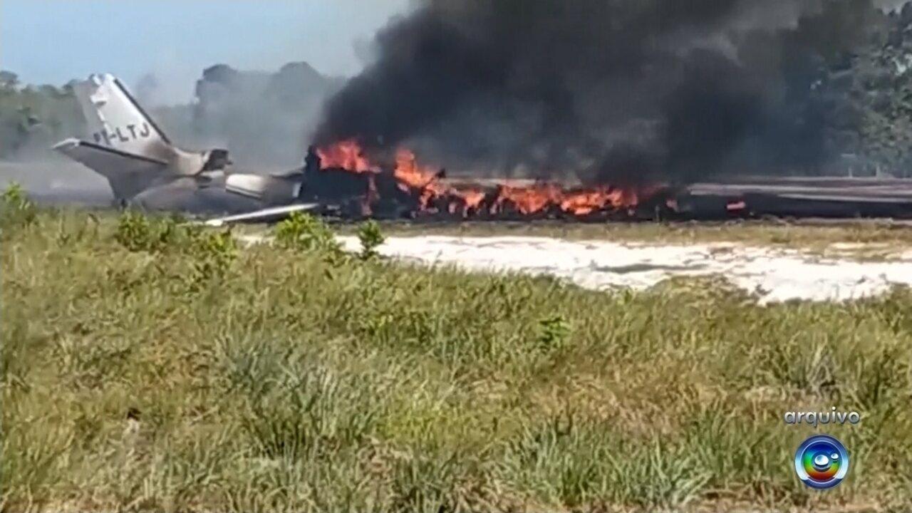 Criança vítima de acidente com aeronave que caiu no sul da Bahia morre em hospital