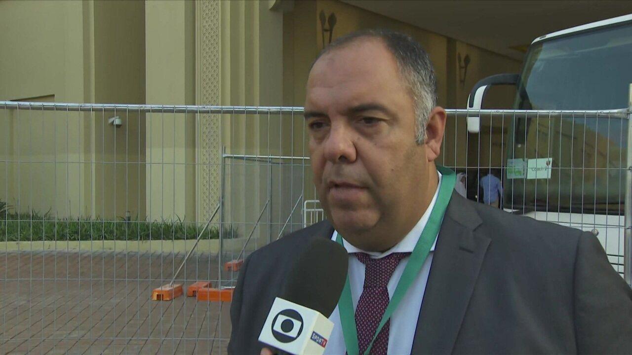 """Marcos Braz fala sobre situação de Jorge Jesus e Gabigol para 2020: """"Estou otimista"""""""
