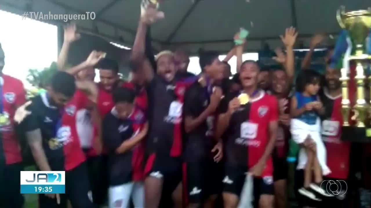 Capital vence de goleada e conquista o título da segunda divisão do Tocantinense