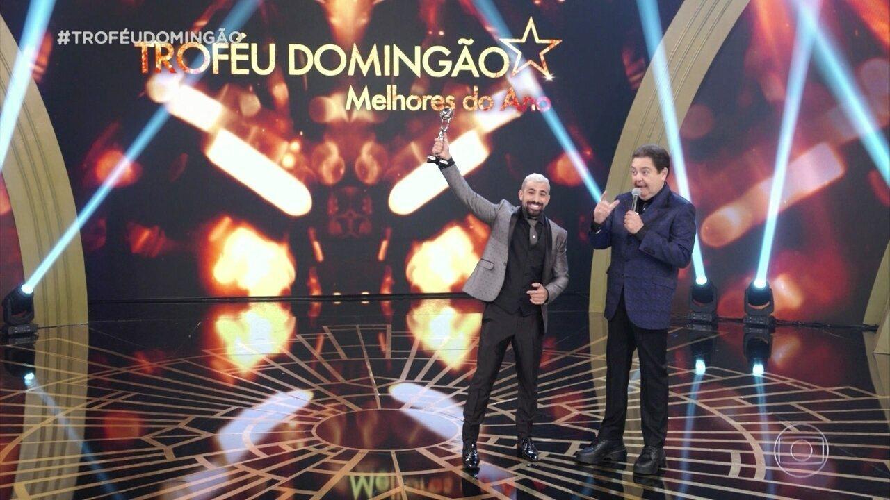 Kaysar Dadour ganha o troféu de ator revelação