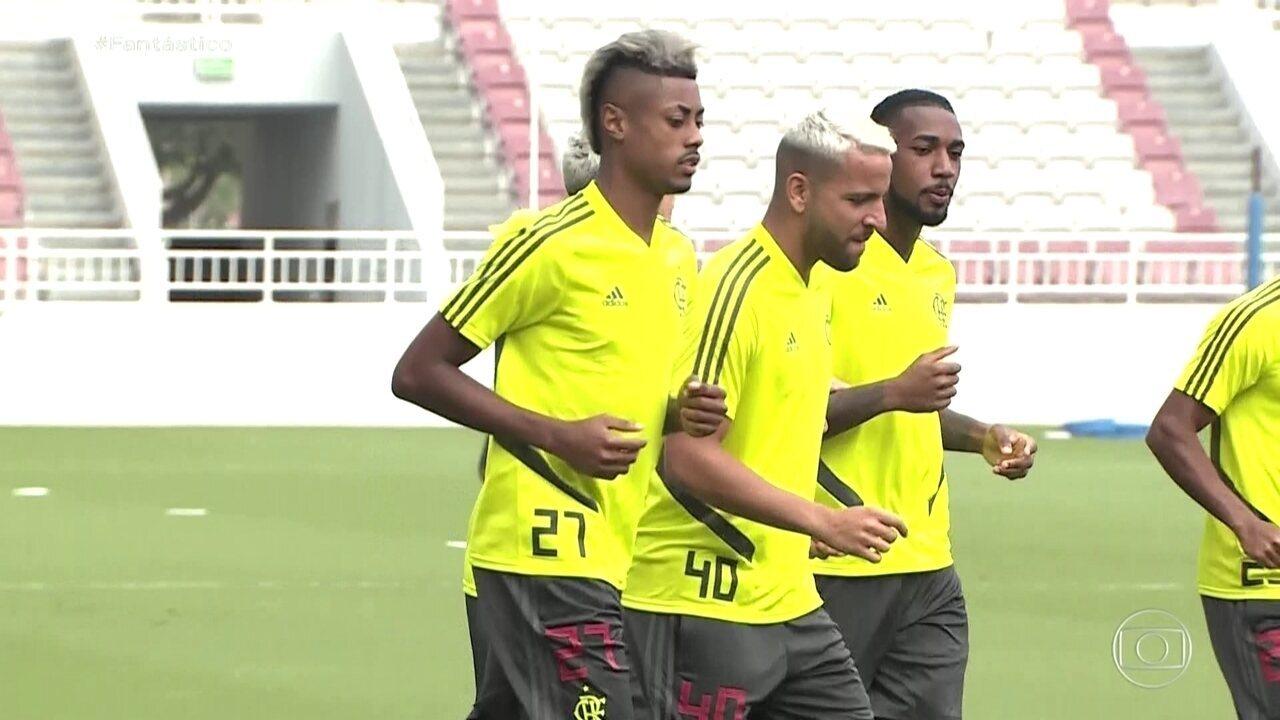 Flamengo treina no Catar para a estreia no Mundial de Clubes