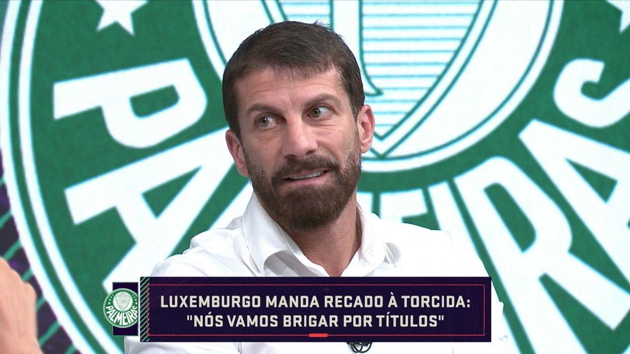 Pedrinho fala sobre contratação de Vanderlei Luxemburgo pelo Palmeiras