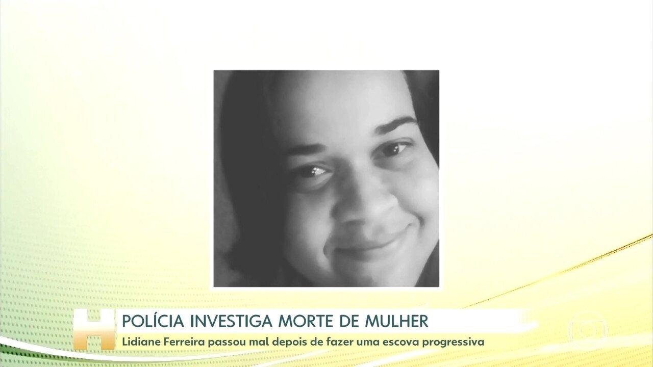 Polícia investiga morte de mulher após procedimento estético