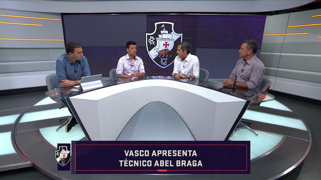 Comentaristas falam sobre a apresentação do Abel Braga no Vasco