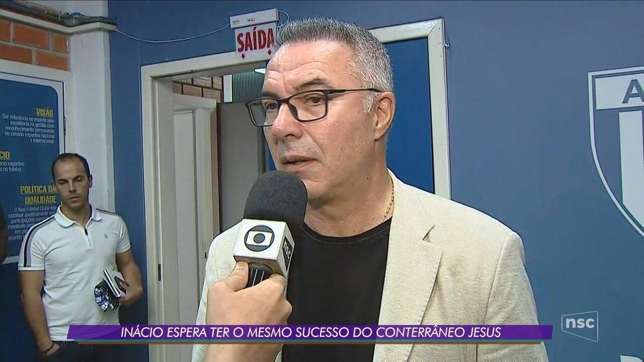Avaí apresenta o técnico Augusto Inácio
