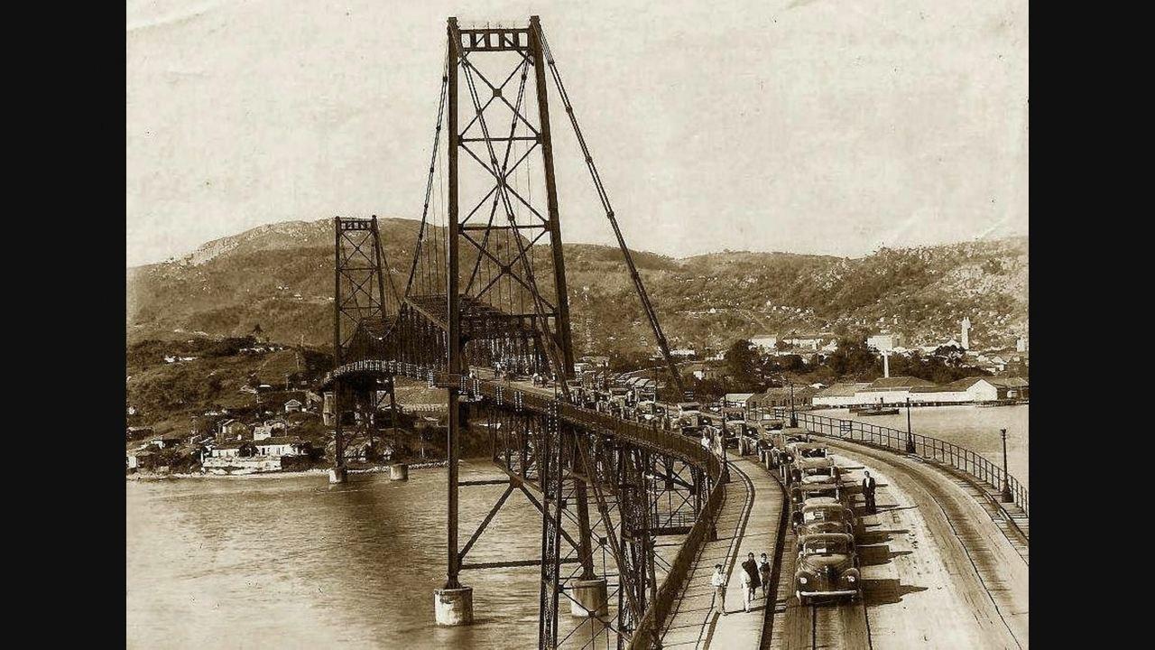 Veja imagens da Ponte Hercílio Luz, cartão postal de Florianópolis
