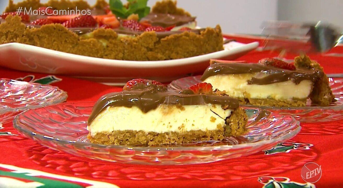Fernando Kassab ensina a receita de torta de limão com ganache de chocolate