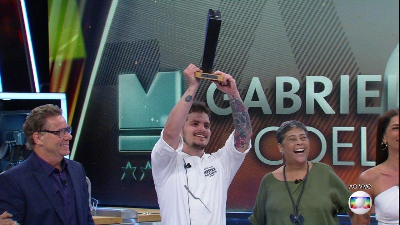 Gabriel Coelho é o grande vencedor do Mestre do Sabor