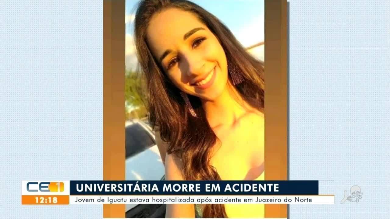 Universitária morre em acidente em Juazeiro do Norte