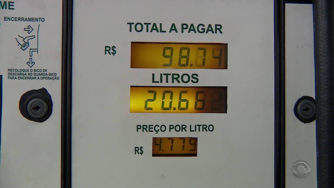 RS tem o preço mais alto do etanol e é o quinto maior em relação a gasolina
