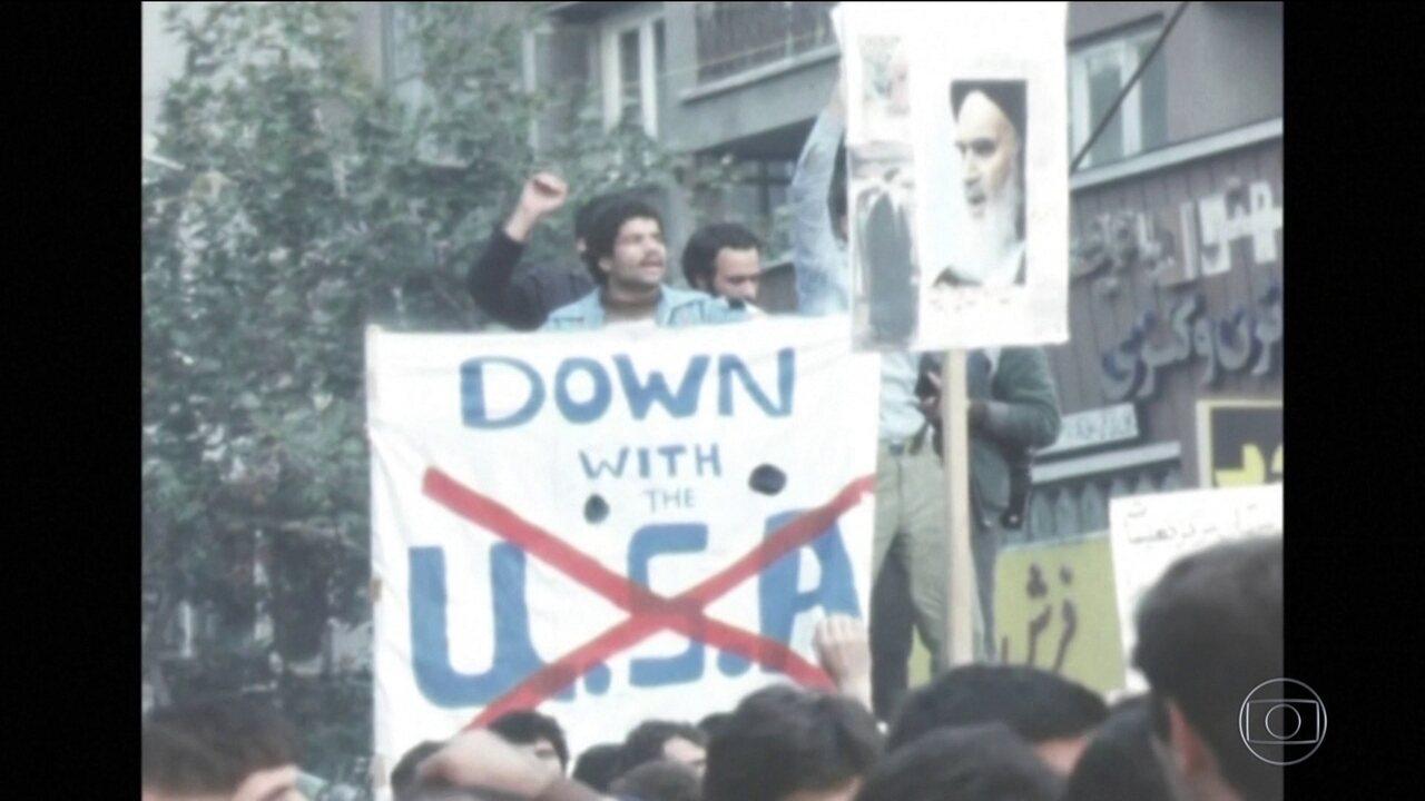 EUA e Irã têm relações conturbadas há 40 anos e pioraram com Trump