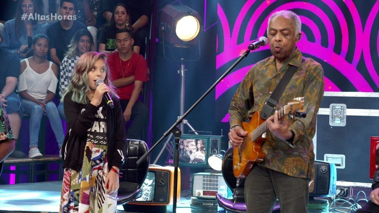 Flor Gil e Gilberto Gil fizeram dueto em 'Goodbye My Girl'