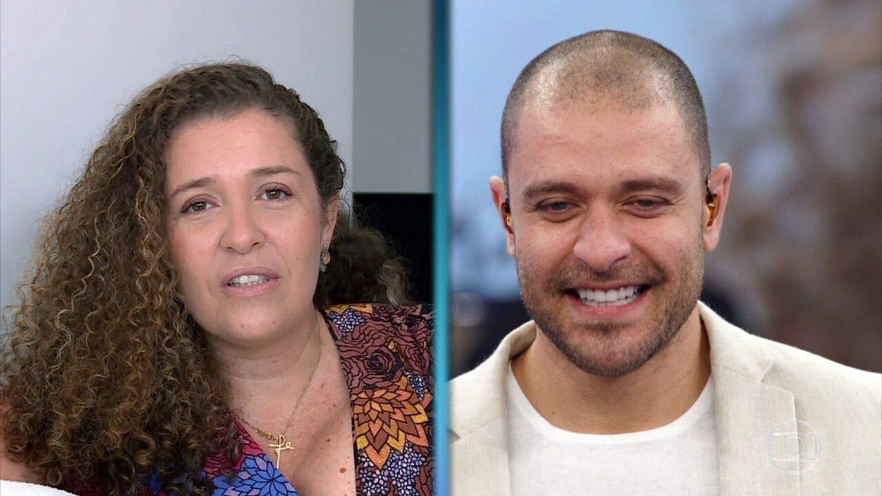 Tatiana Nogueira conta história curiosa sobre o irmão