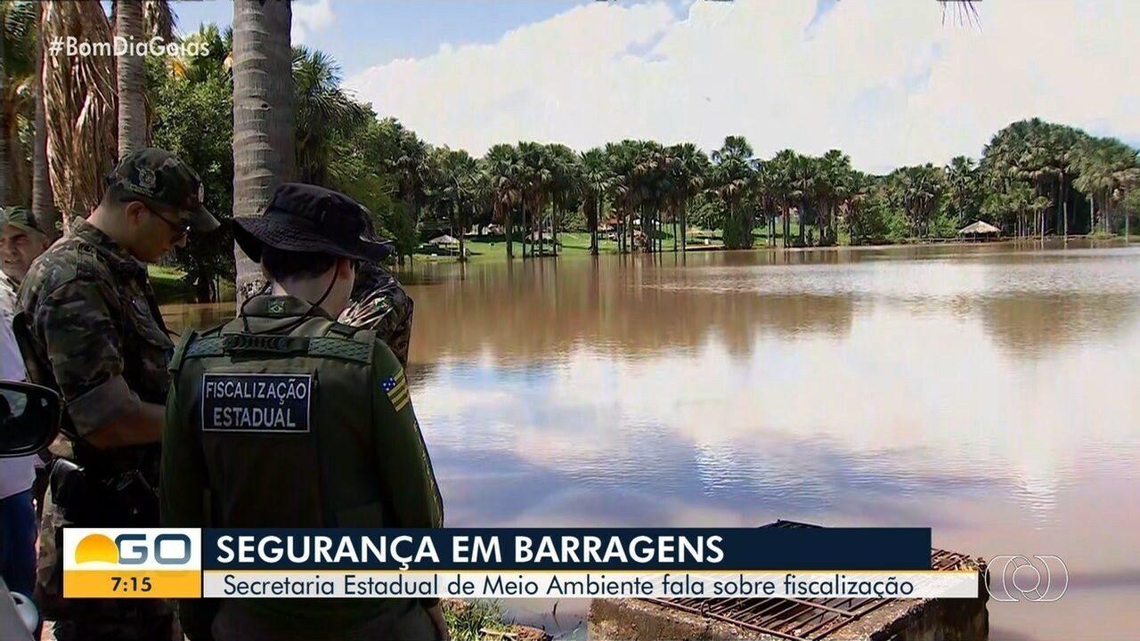 Superintendente fala sobre fiscalizações de barragens em Goiás