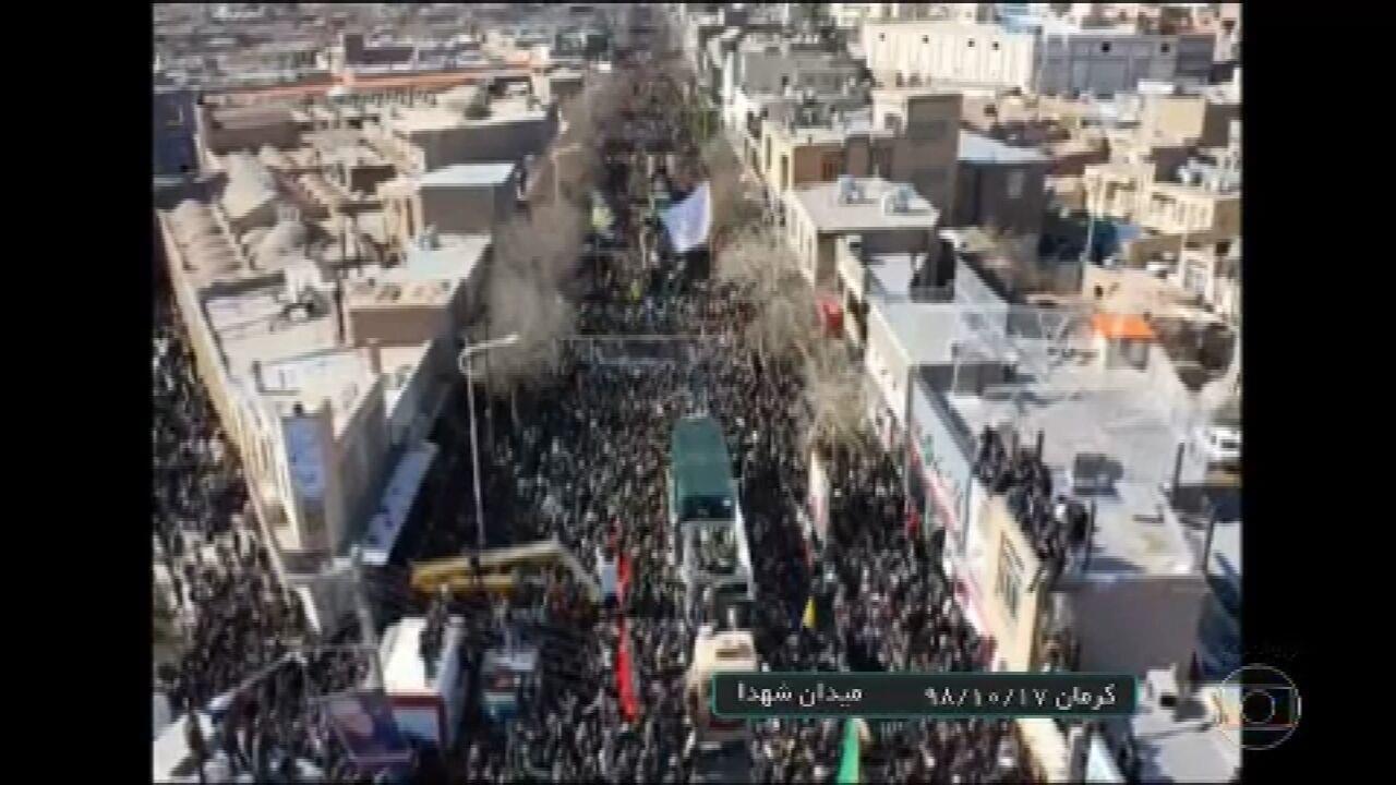 Confusão no funeral do general Qassem Soleimani deixa dezenas de mortos no Irã