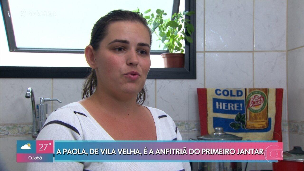 Paola promove passeio pela Itália no 'Jogo de Panelas Espírito Santo'