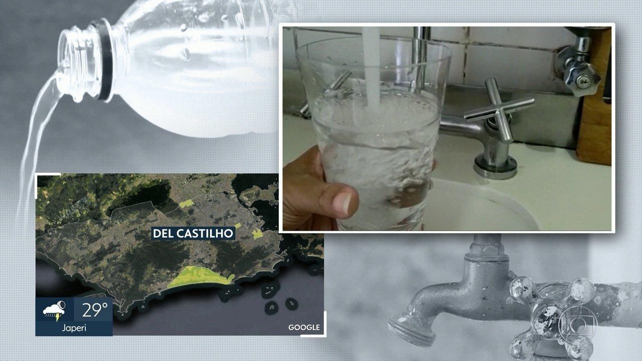 Moradores de várias partes do RJ reclamam da qualidade da água da torneira