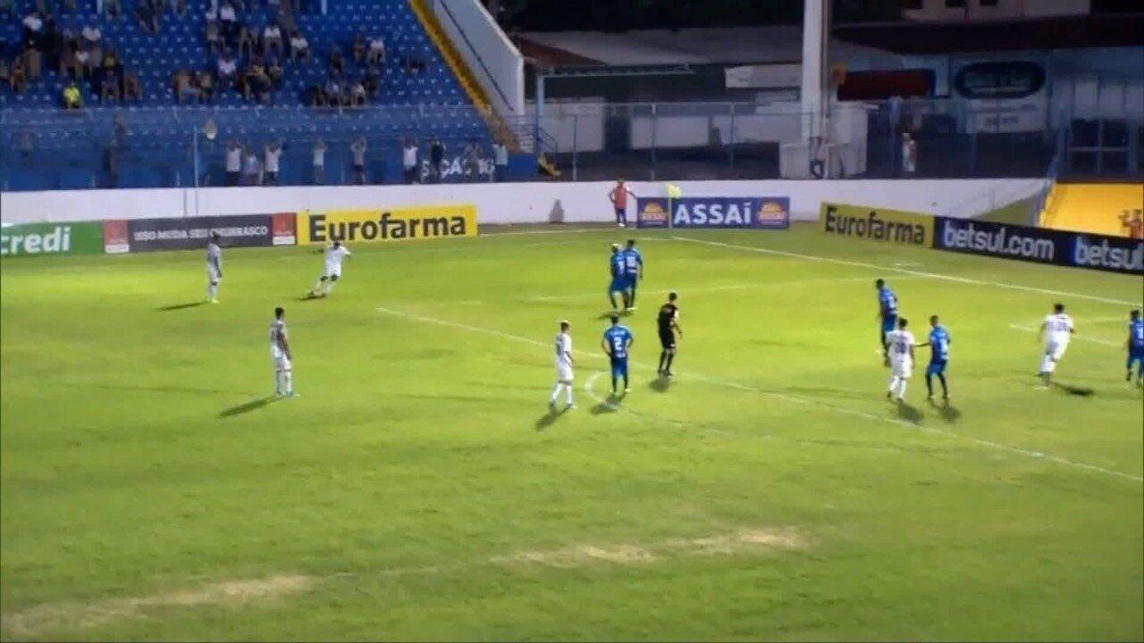 Prudentino Zete marca em goleada do Santos na Copinha