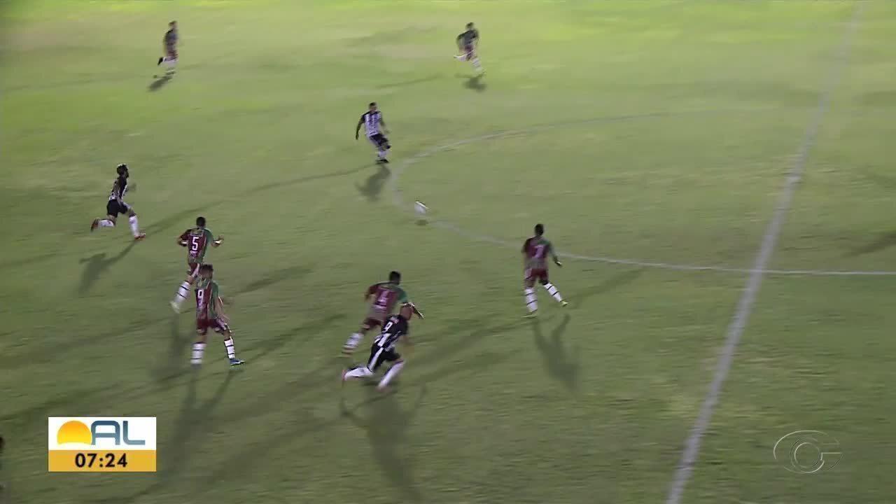 ASA vence o CSE pela Copa Alagoas