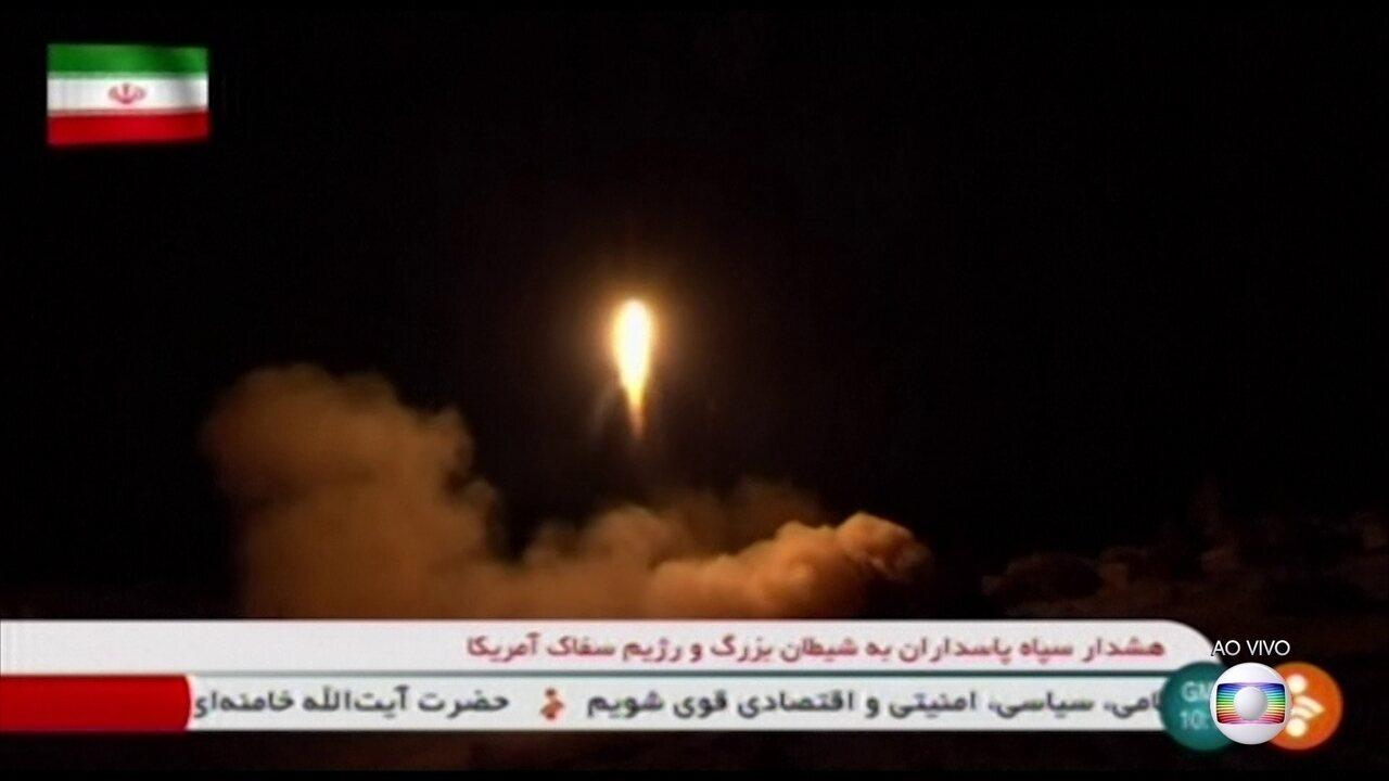 Tensão entre EUA e Irã diminui após ataques de ambos os países