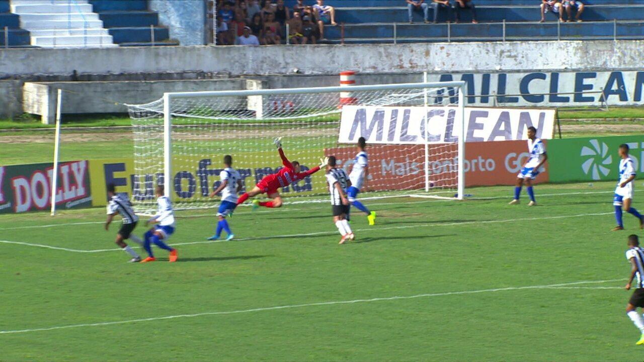 Gol do Atlético-MG! Wesley pega cruzamento de primeira e faz um belo gol, aos 16' do 2ºT