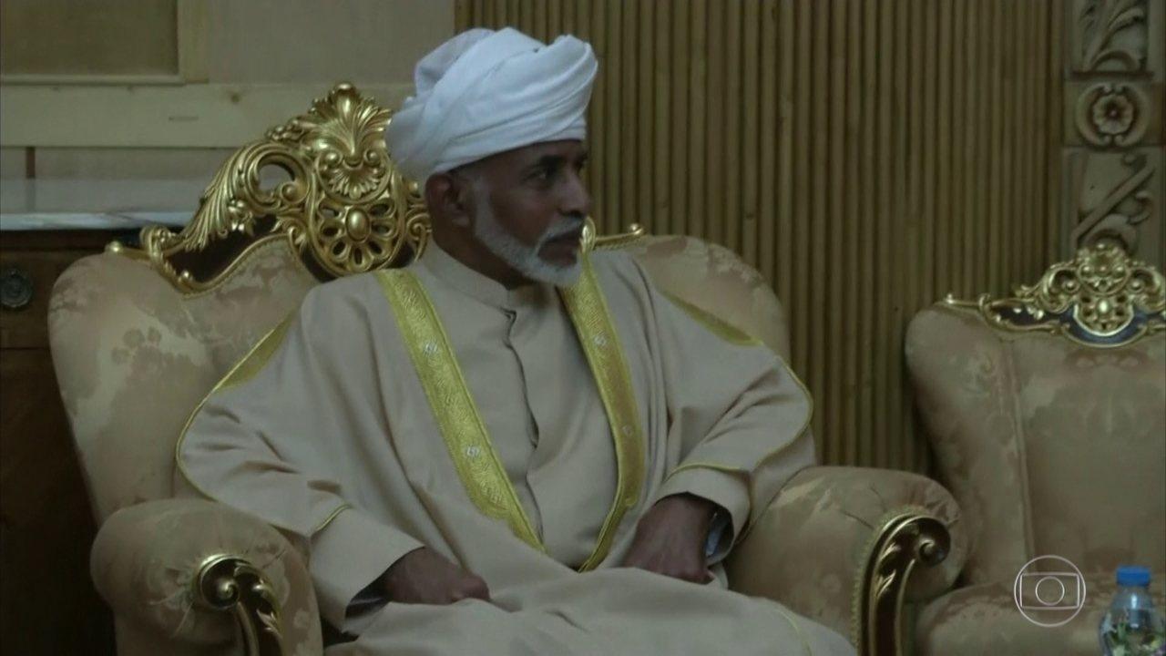 Morre o sultão de Omã, Qaboos Bin Said, aos 79 anos
