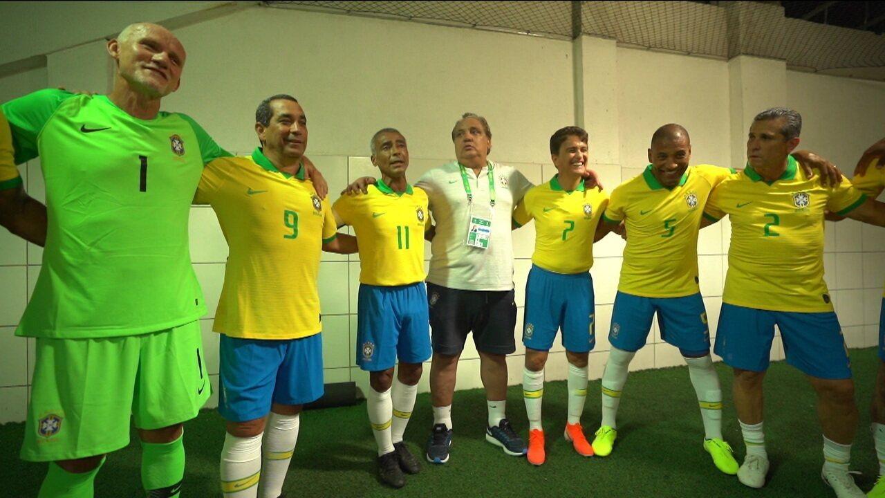 Filhos do Tetra: Em comemoração dos 25 anos do Tetra, Brasil e Itália se reencontram para um amistoso em comemoração