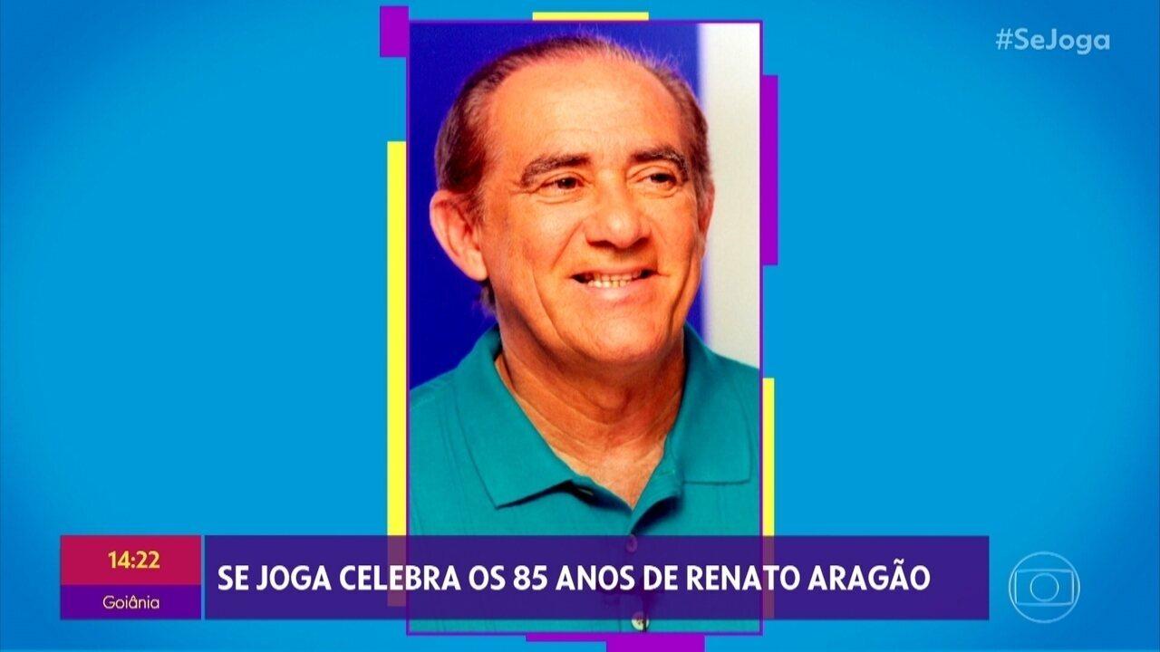 Renato Aragão é homenageado por aniversário de 85 anos