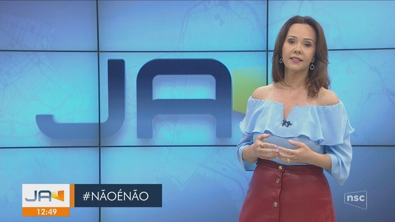 Jornal do Almoço se posiciona sobre declaração de deputado catarinense