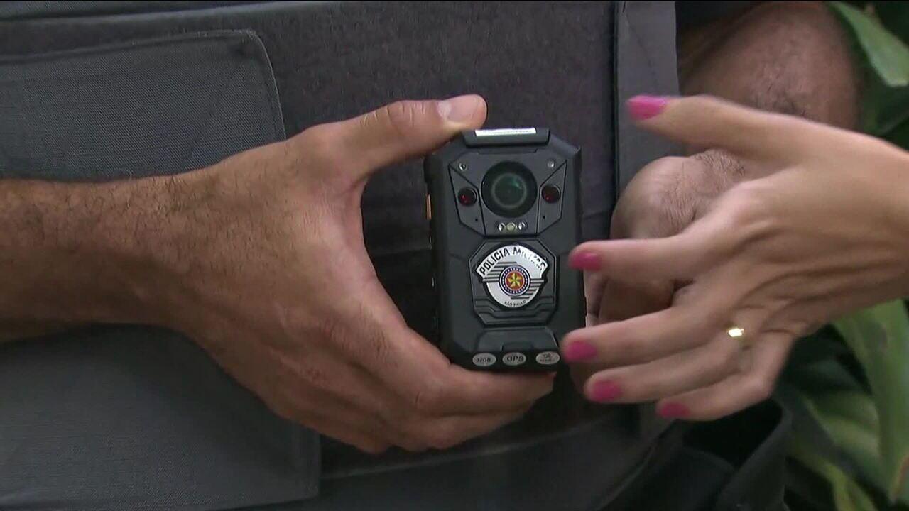 Uniforme da PM do Rio vai ser equipado com câmeras