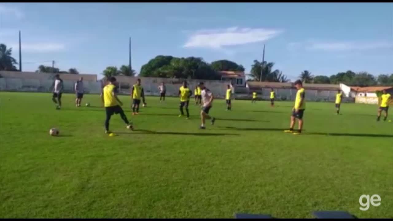 Clube do Remo segue realizando treinos da pré-temporada em Salinas