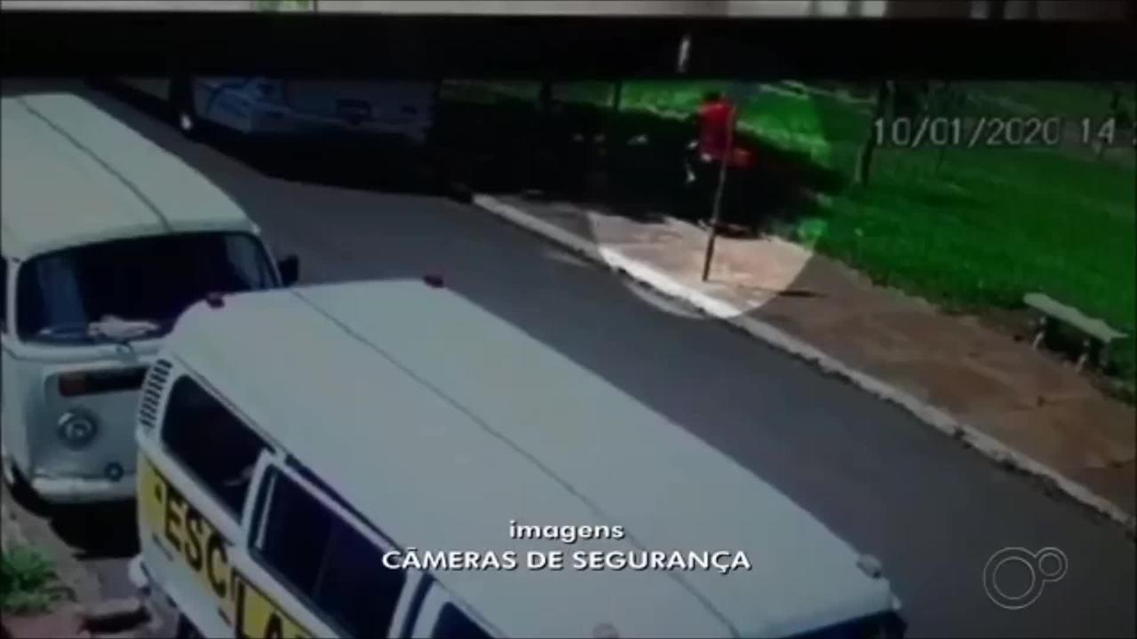 Vídeo mostra suspeito com menina Emanuelle, achada morta após desaparecer em Chavantes