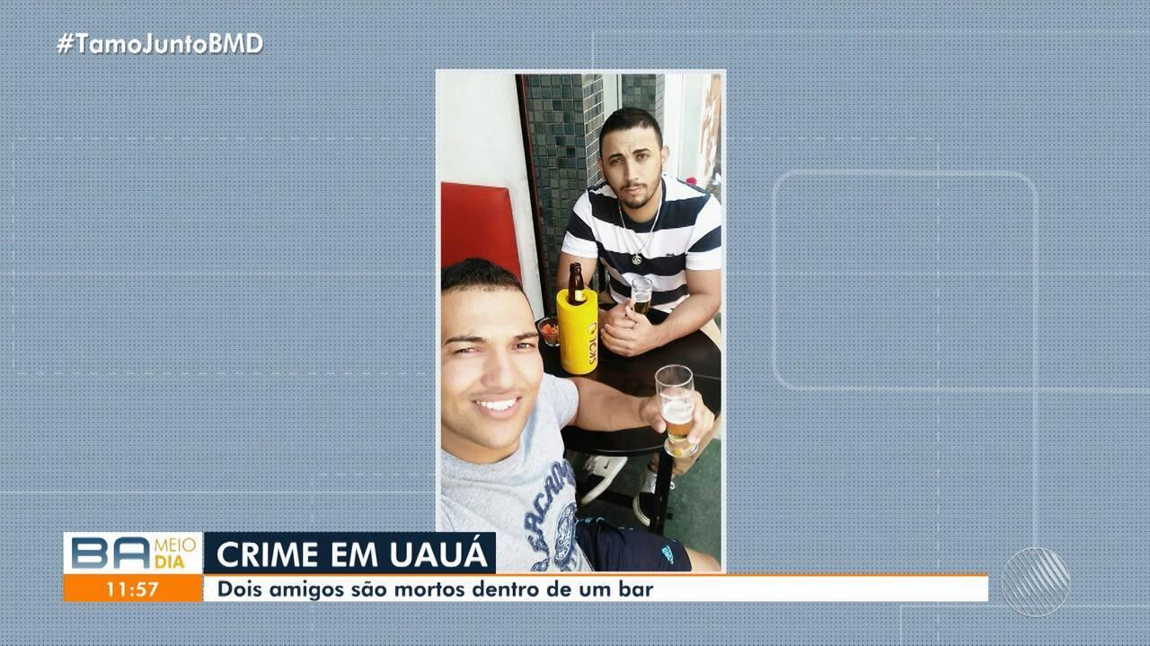 Homens são assassinados dentro de um bar na cidade de Uauá, no norte do estado