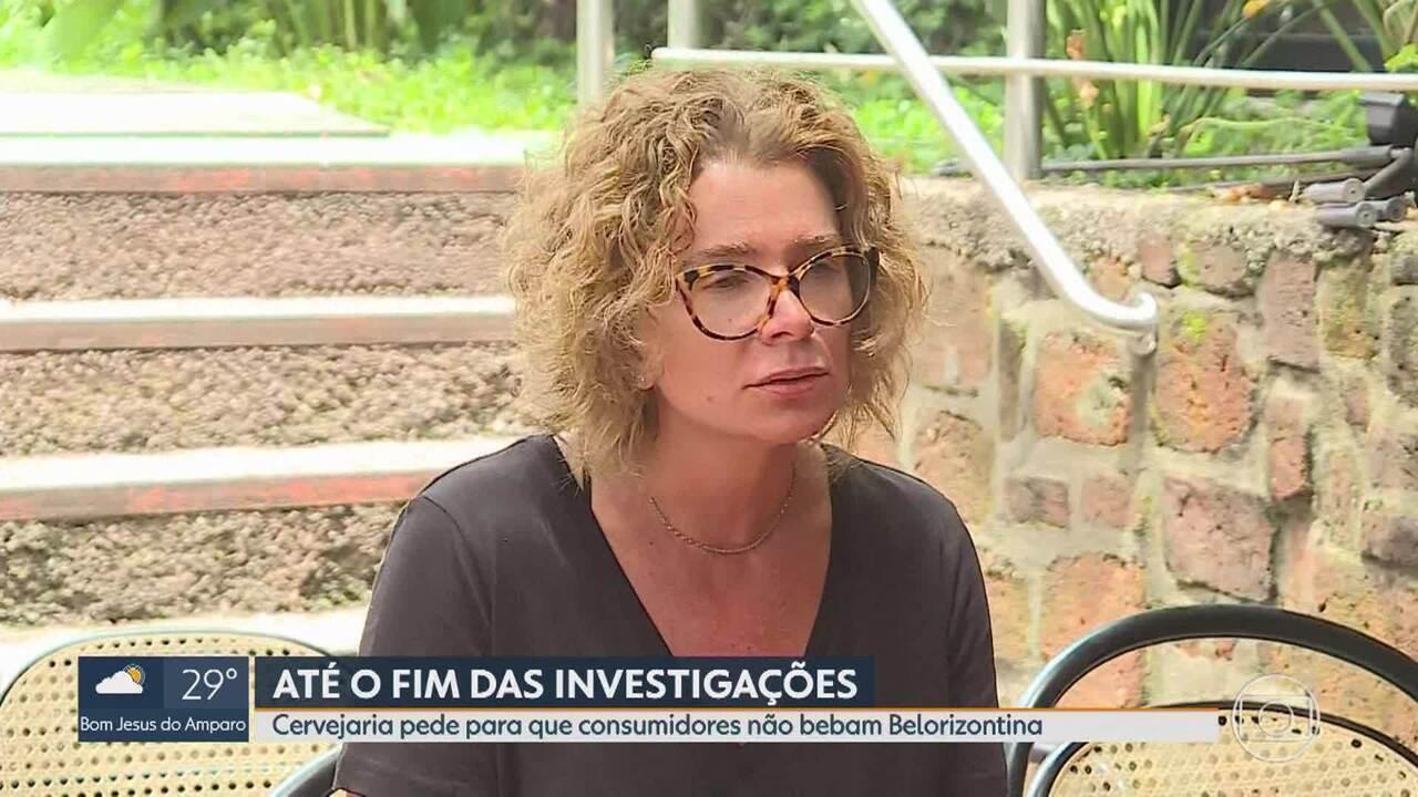 Diretora de marketing da Backer: 'Não bebam a Belorizontina, qualquer que seja o lote'