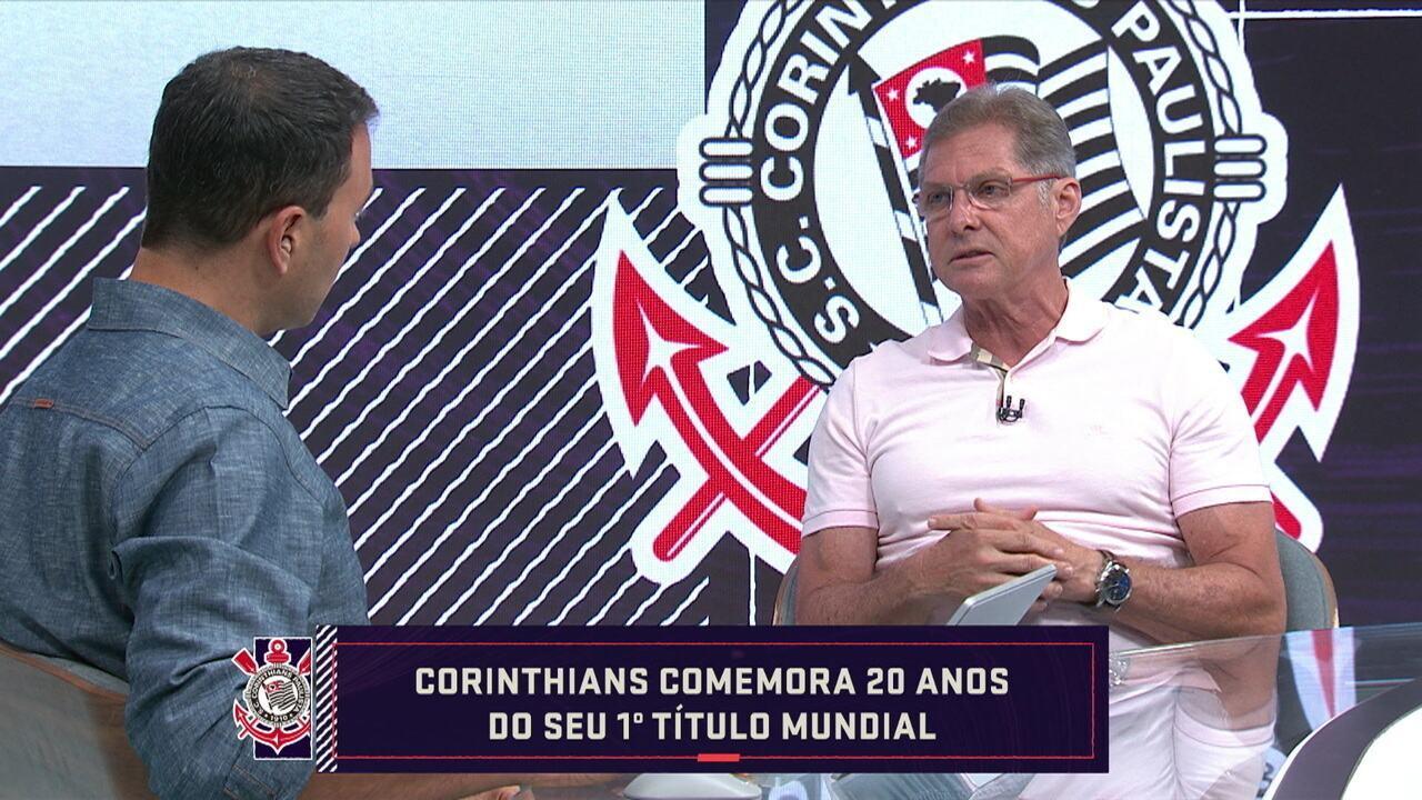 Oswaldo de Oliveira relembra Mundial conquistado há 20 anos pelo Corinthians