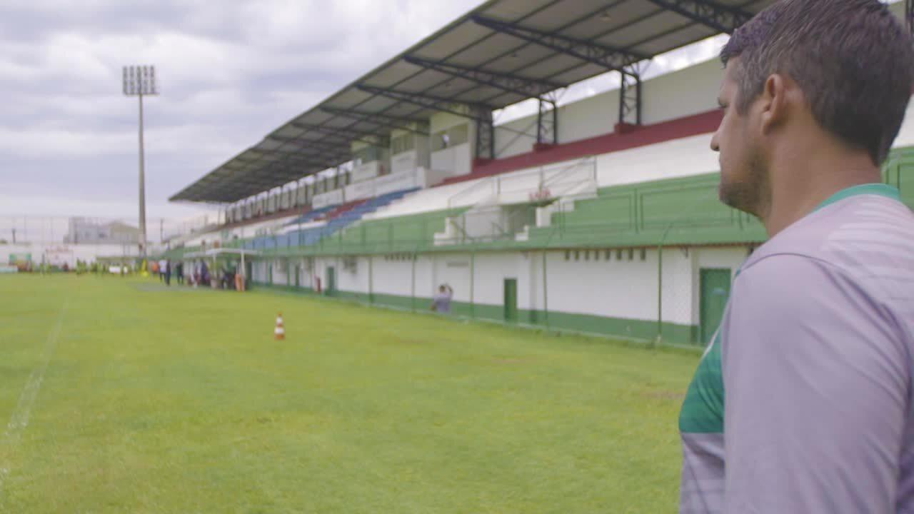 """""""Meu sonho é ver a Cabofriense na primeira divisão do campeonato brasileiro.˜"""
