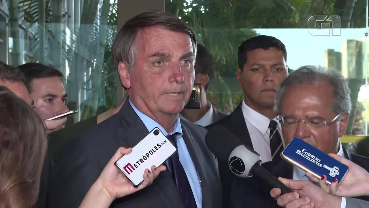 Bolsonaro diz que salário mínimo passará de R$ 1.039 para R$ 1.045 em fevereiro
