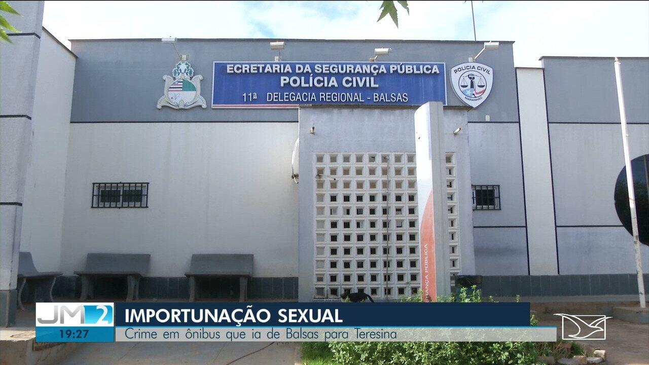 Adolescente é levado à delegacia após ejacular em passageira dentro de ônibus em Balsas