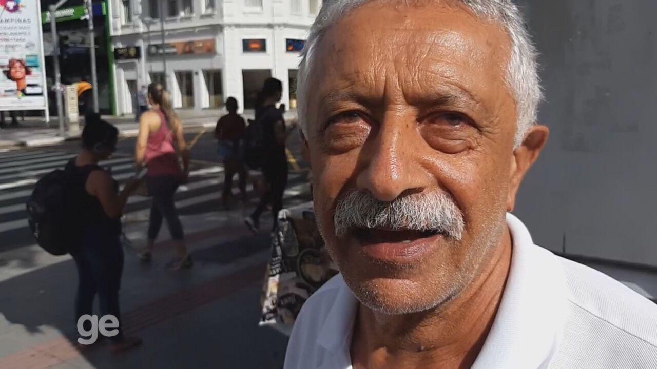 GloboEsporte.com percorre ruas de Campinas para saber o que os bugrinos esperam em 2020