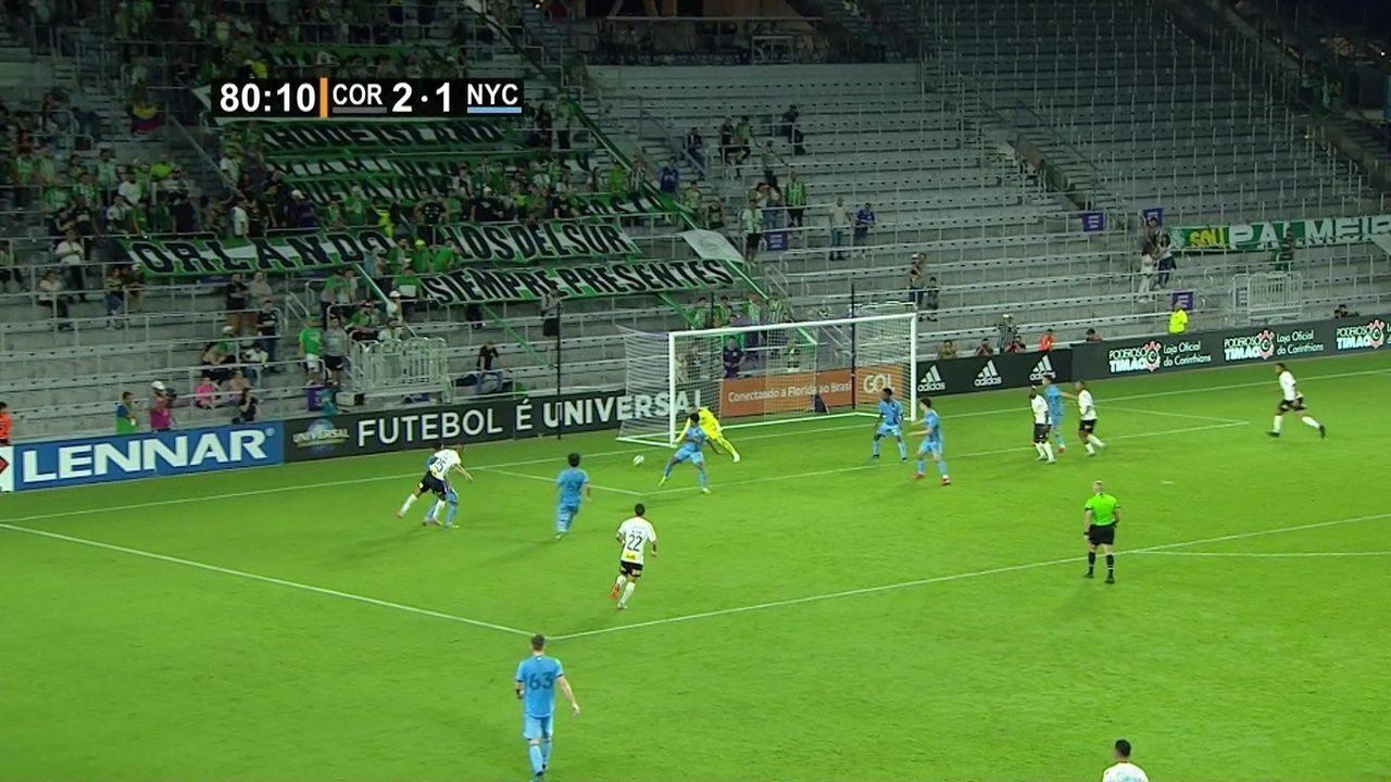 Melhores momentos: Corinthians 2 x 1 New York City pelo Torneio da Flórida