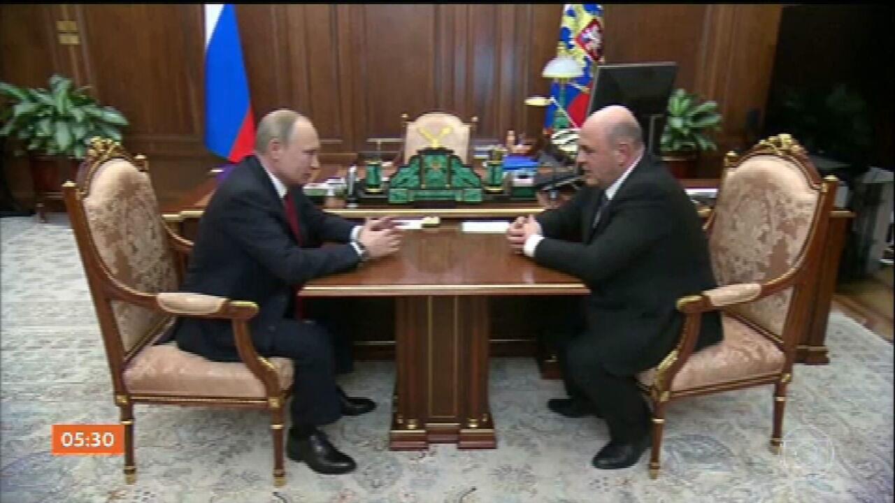 Primeiro-ministro da Rússia renuncia após Putin propor reforma da Constituição