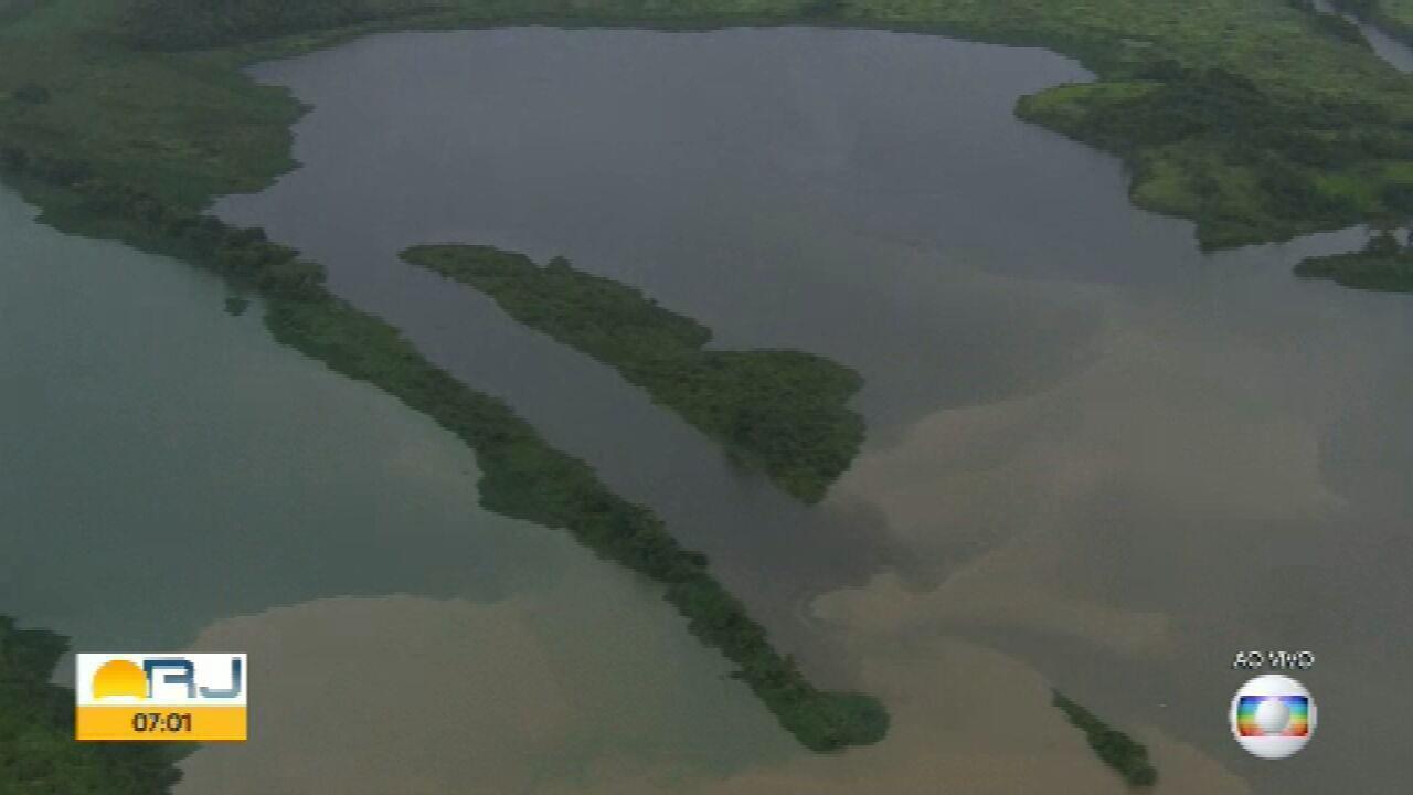 Especialista analisa rios que desembocam no Guandu