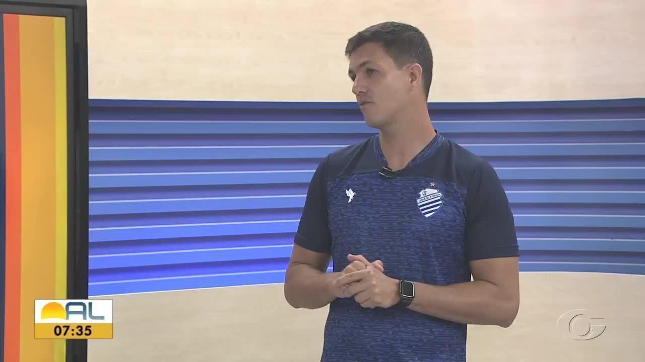 Técnico do CSA, Maurício Barbieri falou do planejamento do clube para 2020