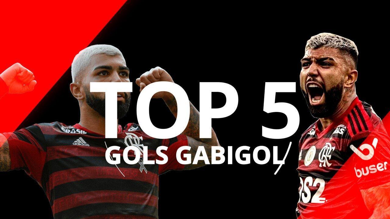 Top 5 Gols do Gabigol